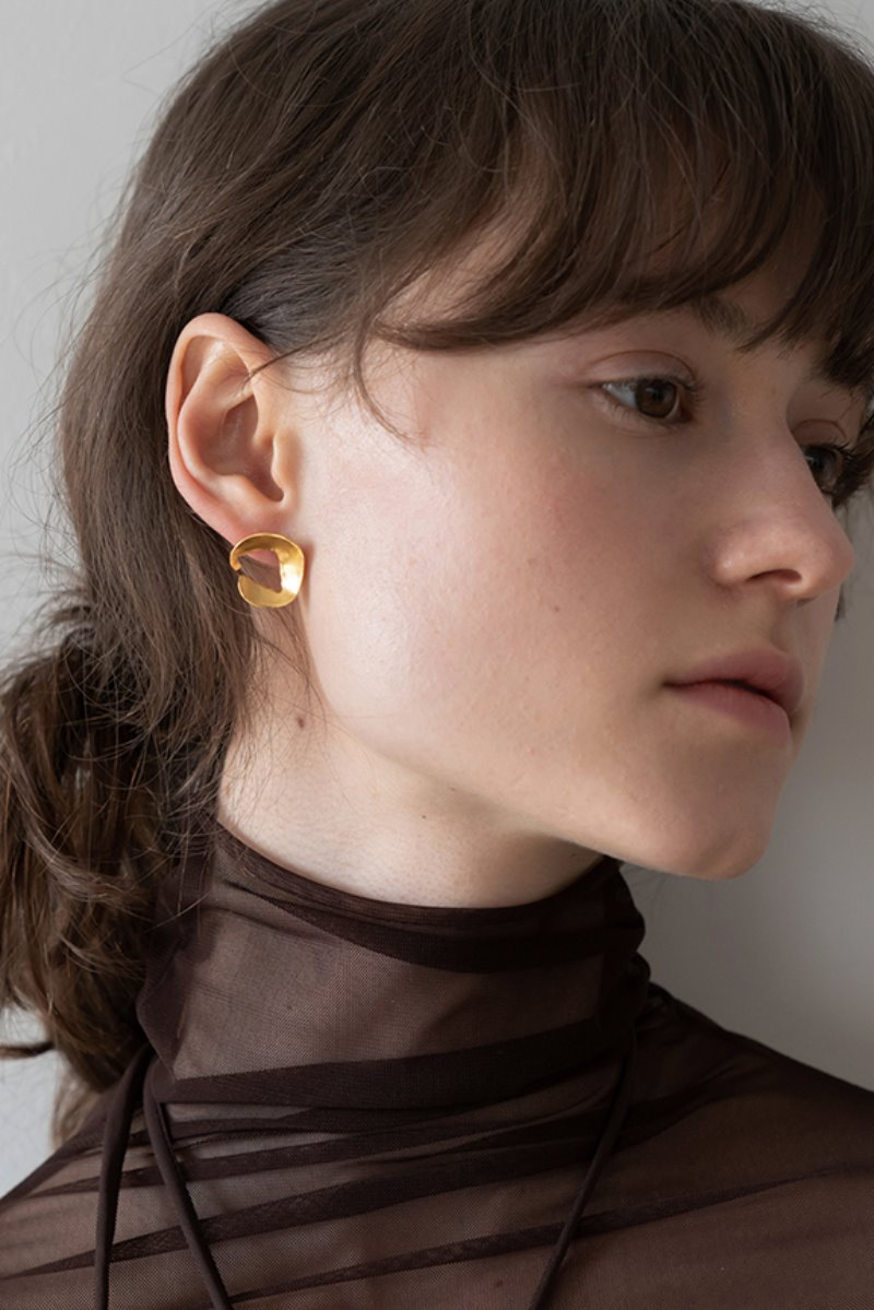 '004 COLLECTION' MINI FRAGMENT EARRING